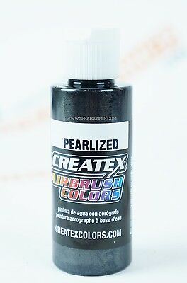 Createx Airbrush Colors 5315 Pearl Black 2oz. water-based pearlized paint