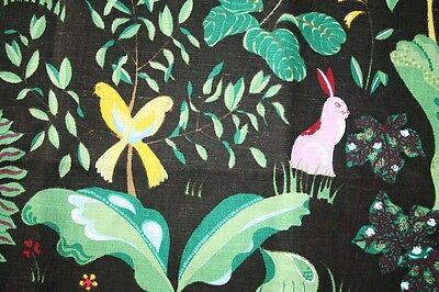 new Scandinavian fabric, called SILVIUS by Cecilia Hall for AHLENS linen cotton