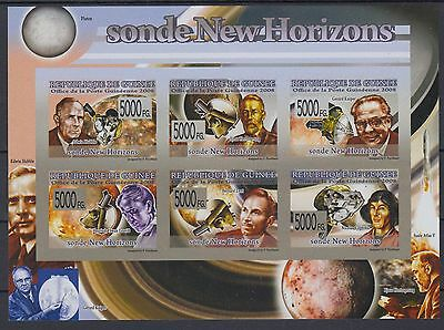 XG-AF080 GUINEA - Space, 2008 New Horizon Probe, Imperf. MNH Sheet