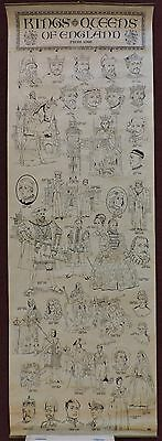 A Kings and Queens of England from 1066 Scroll