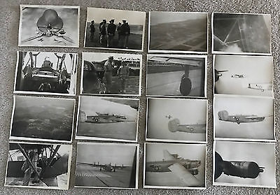 Vintage 1944 WWII Photographs 25 Unpublished Tyndall Field Gunnery School 5 x 7