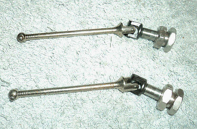 HYPER 7 7.5 8 8.5 PRO UK FRONT REAR CVD UNIVERSAL DRIVESHAFTS & HEX'S with NUTS.