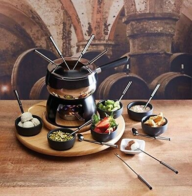 Master Class Artesa Stainless Steel 6-Person Party Fondue Set