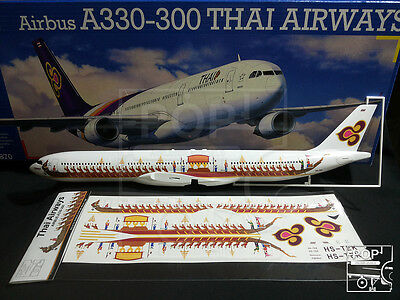 Thai Airways AIRBUS A330-300 Laser Decal Royal Barge Livery for Revell 1/144