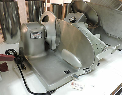 Used Hobart 410 Manual Commercial Compact Food Deli Meat Slicer
