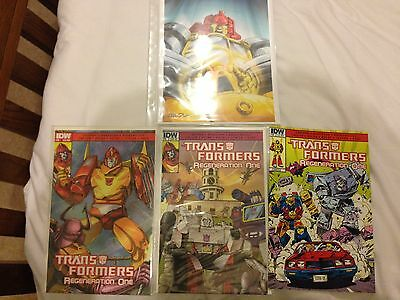 Transformers Regeneration One Lot 3