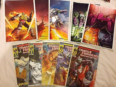 Transformers Regeneration One Lot 4