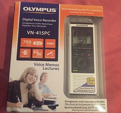 New & Sealed Olympus VN-415 PC Digital Voice Recorder