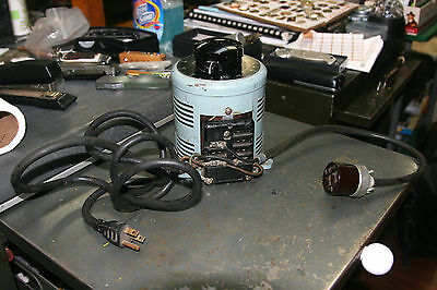 Powerstat Superior Electric Co. 0-100 Variac Variable Auto Transformer