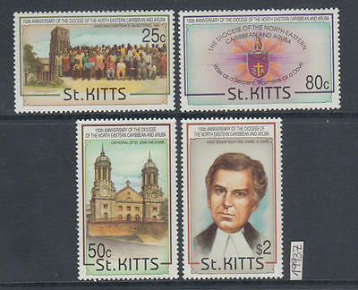 XG-AI460 ST KITTS IND - Religion, 1993 Diocese Of Cariebbean And Aruba MNH Set