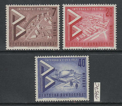 XG-AJ470 GERMANY/BERLIN - Architecture, 1957 Interbau, 3 Values MNH Set
