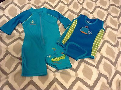Mothercare 6-12months Boys baby warmer/ wetsuit And Swimsuit