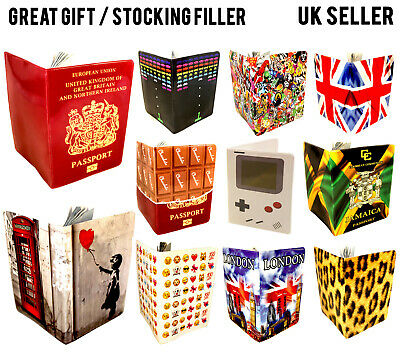 Cool Passport Cover Uk Us European Travel Id Holder Protector Wallet Case Lot