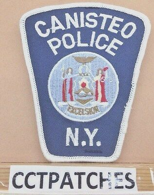 Canisteo, New York  Police Shoulder Patch Ny