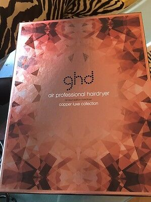 Ghd Air Hair Dryer Copper Genuine And New In Box