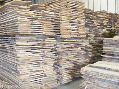 27mm Waney Edge Oak Timber Boards - Kiln Dried Timber - 10 Cubic feet