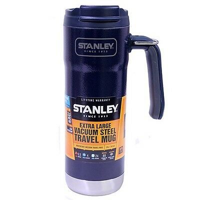 Stanley 10-01904-001 Adventure Vacuum Insulated Travel Mug 20oz Navy