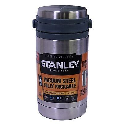 Stanley 10-01939-001 Mountain Vacuum Insulated Trail Mug 12oz Stainless Steel