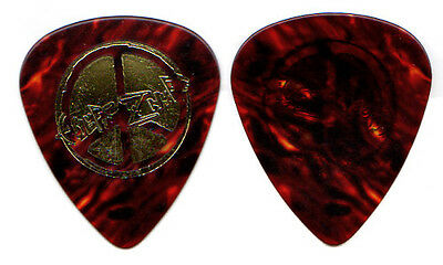 ENUFF Z'NUFF Guitar Pick : 90s Tour gold tortoise color - glam metal