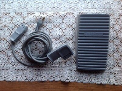 Genuine Original Bernina Foot Control Pedal + Cord/Cable - Type 290 - Works