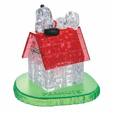 3D Crystal Puzzle Snoopy and House JAPAN