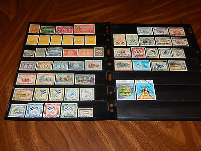 Honduras stamps - BIG lot of 54 mint hinged and used early stamps - super !!