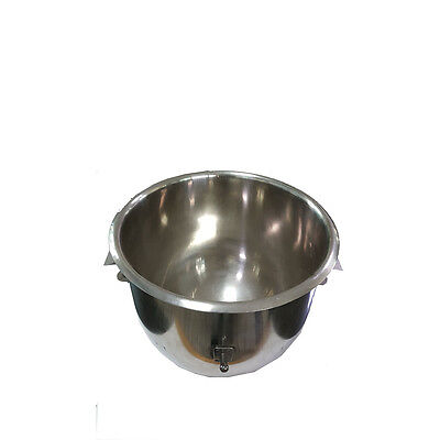 Planetary Dough Bowl For 20 QT Mixer Stainless Steel Material Atlas Star Machine