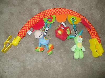 Playgro Travel Arch with 3 toys