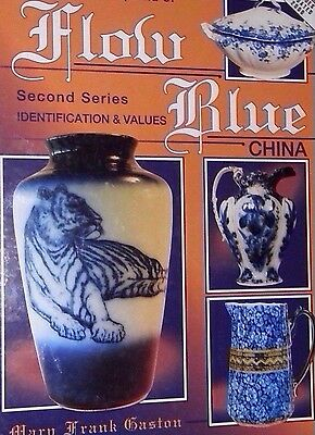 Flow Blue China Encyclopedia Value Guide Collector's Book