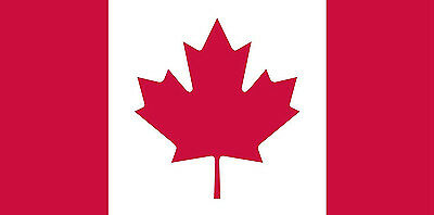 """NEW - Flags Unlimited 36"""" x 72"""" Canadian Flag $60"""
