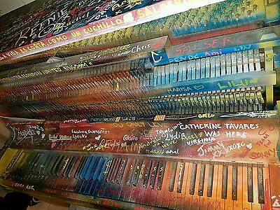Piano Wood Colourful Very cool