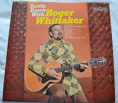 Settle Down with Roger Whittaker Vinyl LP Record