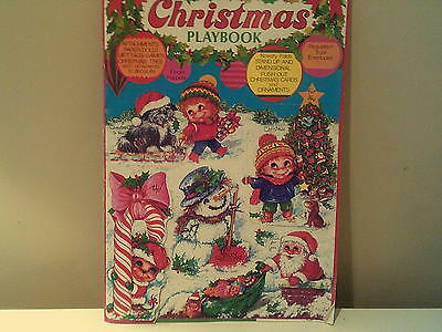 Vintage Children Activity Christmas Book, Lot Of Fun Christmas Things To Make