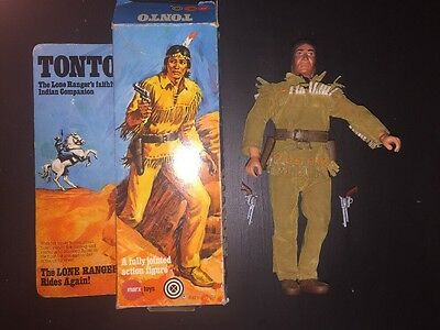 "The Lone Ranger ""Tonto"" Vintage Action Figure- Marx 1975"