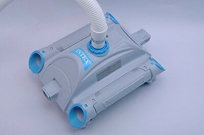 Automatic Above Ground Swimming Pool Vacuum Cleaner Venturi Suction Cleaning