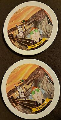 Hallmark Maxine Collectable Plates The Screaming Fit Funny Novelty Decorative