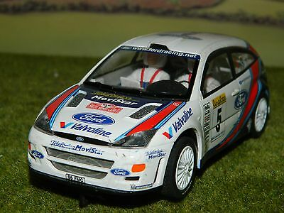 132nd Scale 'Scalextrics' Ford Focus rally car