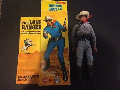 The Lone Ranger Vintage Action Figure- Marx 1975