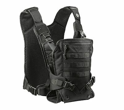 Mission Critical Tactical FRONT BABY CARRIER BLACK Military Army Navy Seal NEW