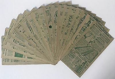 NABISCO INJUN-UITY Cards Lot of 19 Diff. Cards,1951 Book 3