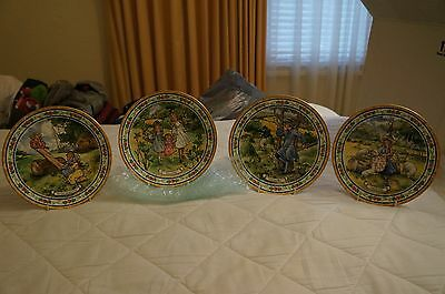 Royal Doulton Nursery Rhyme collector plates, set of 4
