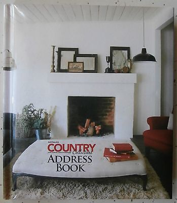ADDRESS BOOK - Australian COUNTRY COLLECTIONS - H/C - LOOK!