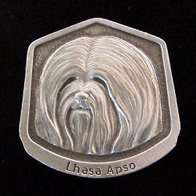 Lhasa Apso Fine Pewter Dog Breed Ornament