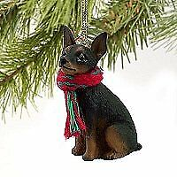 1 X Miniature Pinscher Miniature Dog Ornament