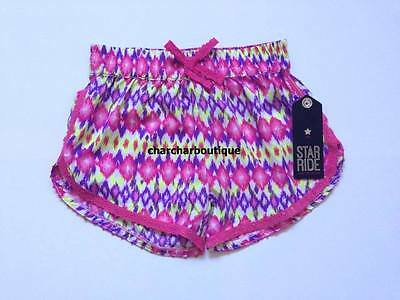 Nwt Girls Star Ride Shorts. Size S(4).