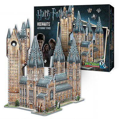 NEW Games Hogwarts Astronomy Tower 3D Jigsaw Puzzle