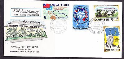 Samoa 1972 - 25th Annn South Pacific Commission First Day Cover - Unaddressed