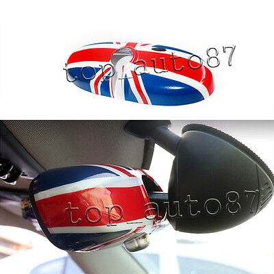 Union Jack Mini Cooper S ONE R60 Countryman R61 Paceman Rear View Mirror Cover