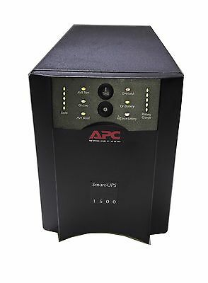 APC Smart-UPS 1500 1440VA 980W 120V 8-Outlets SUA1500 [GOOD BATTERIES]