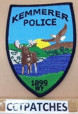 Kemmerer, Wyoming Police Shoulder Patch Wy